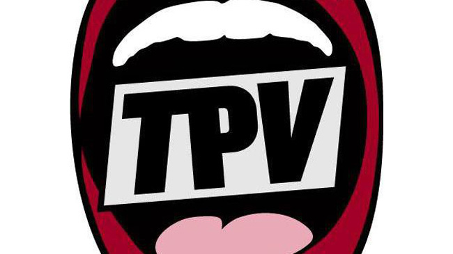 the people's voice logo, independent news Radio and TV station