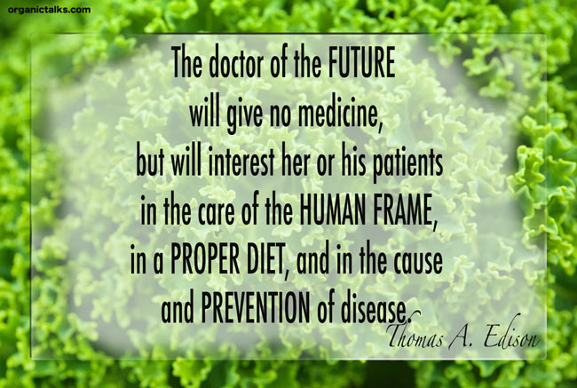 quote on how to prevent disease by thomas a. edison, heart disease diet