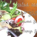 Three salad ideas by Dr. Nandita Shah
