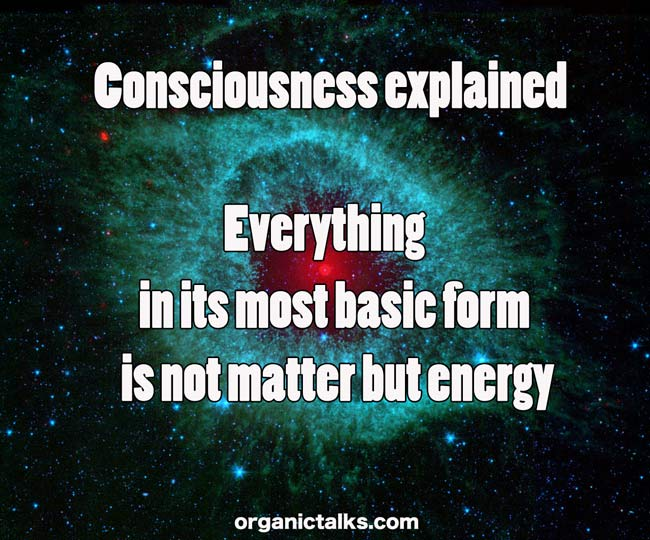 Consciousness explained