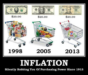 inflation illustration, alternative media