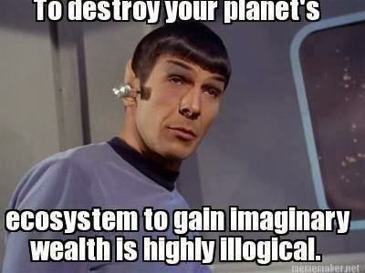 spock quote, the system