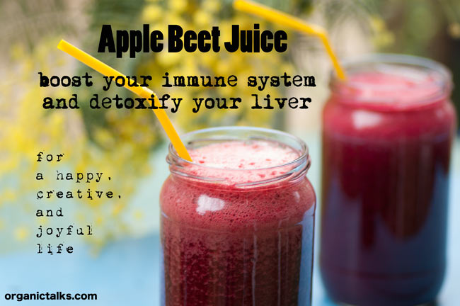 Apple Beet Juice