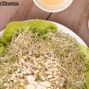 Salad Recipe: Moong and Alfalfa Sprouts Salad