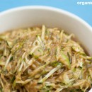Raw food recipe: Miso Zucchini Noodles
