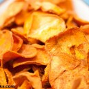 Raw Sweet Potato Chips