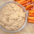 Easy dips: Raw sesame seeds dip/spread – a dip for vegetables