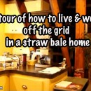 Off The Grid Straw Bale Home